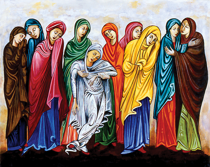 the role of women in jesus The women at the tomb: the credibility of their story there is an argument about the role of the women in the resurrection empty tomb and jesus.